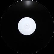 пластинка 12 дюймов черная
