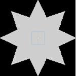 пластинка звезда